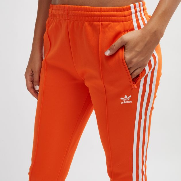 Orange adidas Originals SST Track Pants | Track Pants