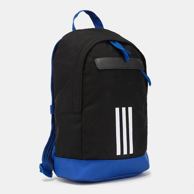 buy online 09d7f 11325 adidas Kids  Classic 3-Stripes XS Backpack - Black, 1187182