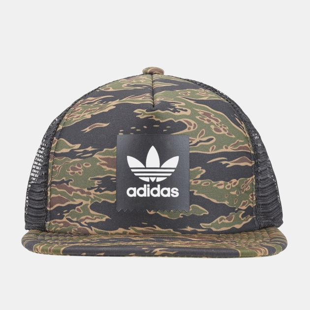 baf5a611 adidas Camouflage Trucker Cap | Caps | Caps and Hats | Accessories ...