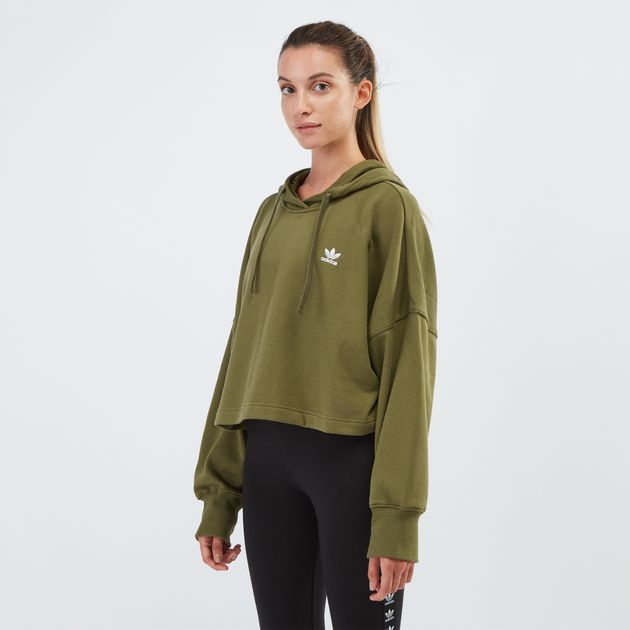 Styling Complements Cropped Hoodie