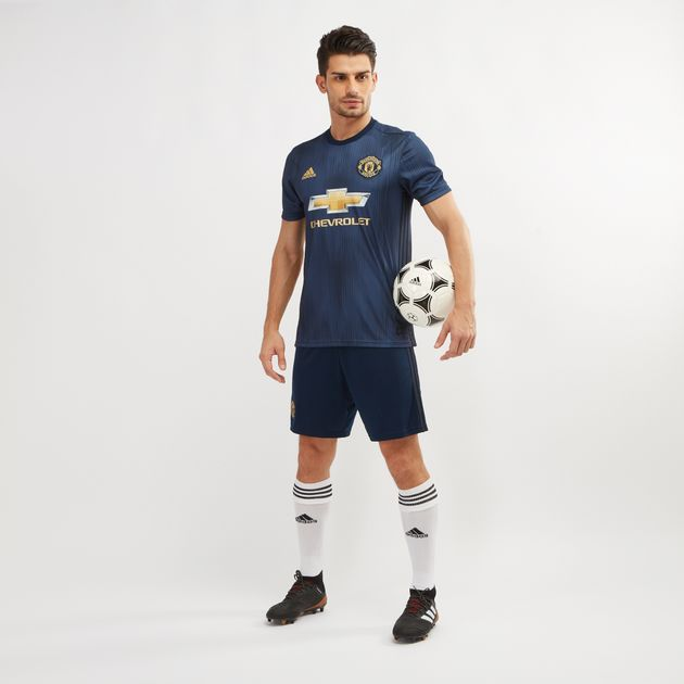 cheap for discount 857a2 9df3b adidas Manchester United Replica Third Jersey - 2018/19 ...