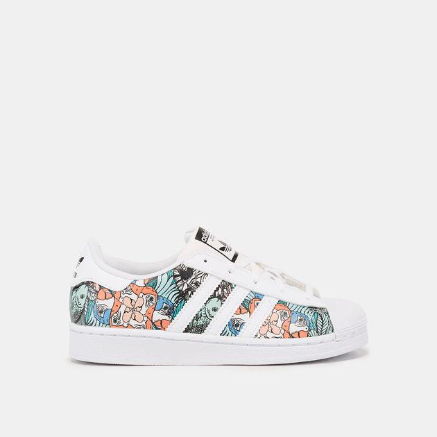 adidas Originals Kids' Superstar Shoe (Little Kids)