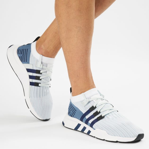 Shop White adidas Originals EQT Support Mid ADV Primeknit Shoe ... c0108b1dc9a9