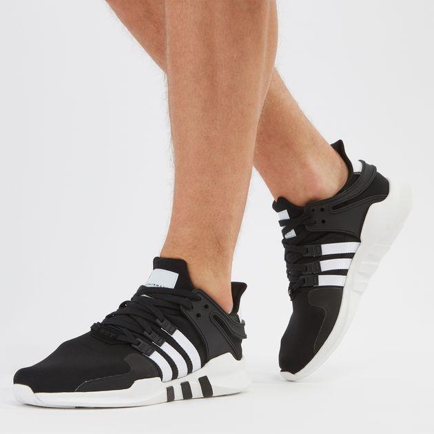 hot sale online c07cc ba326 Black adidas Originals EQT Support ADV Shoe | Sneakers ...