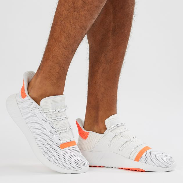 c3dc2fd0a3f Shop White adidas Originals Tubular Dusk Shoe