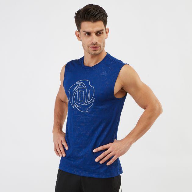 adidas Sleeveless Basketball Jersey