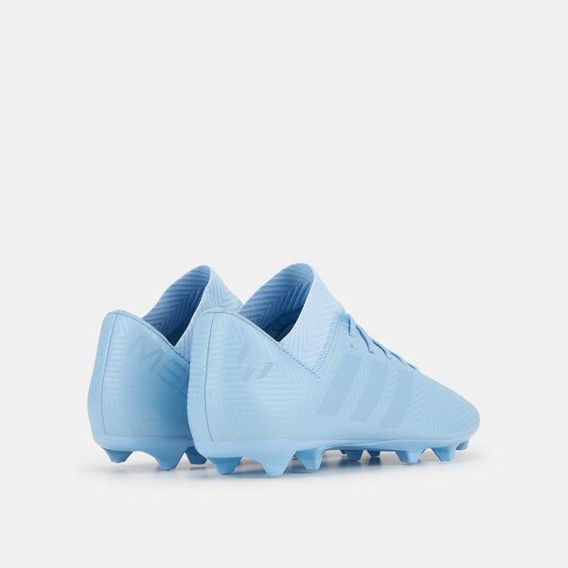 6e423a940 حذاء كرة القدم نميزيز ميسي 18.3 لملاعب العشب الطبيعي سبيكترال مود من اديداس  للاطفال, 1350466