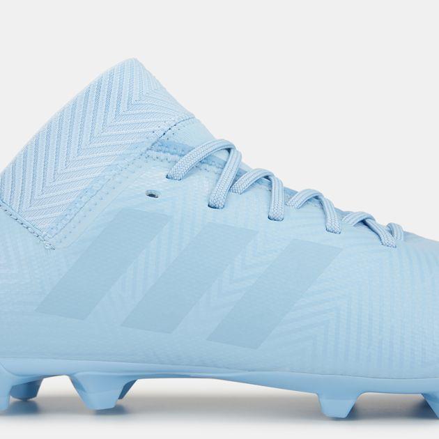 c373cfe0c حذاء كرة القدم نميزيز ميسي 18.3 لملاعب العشب الطبيعي سبيكترال مود من اديداس  للاطفال, 1350468