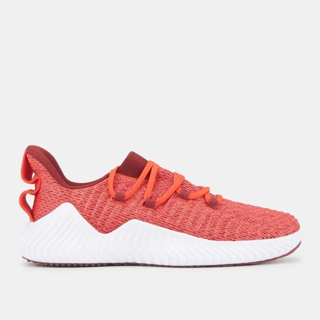 80e9d4622a4af Shop Red adidas Alphabounce Trainer Shoe