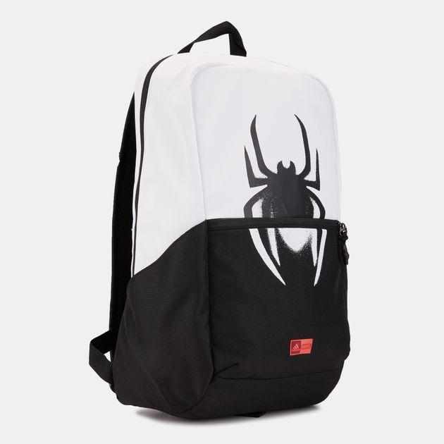 adidas Kids  Marvel Spider-Man Backpack (Younger Kids) - Black 76f1f2167c5eb