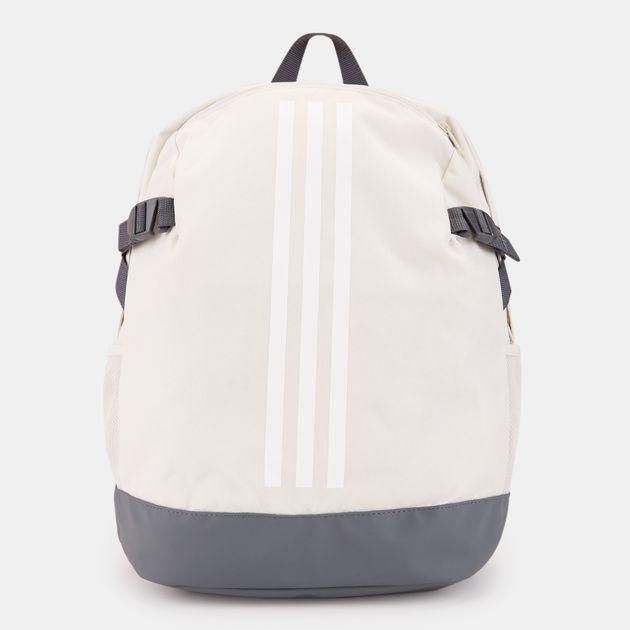 adidas 3-Stripes Power Medium Backpack - White b2c3f3f013451