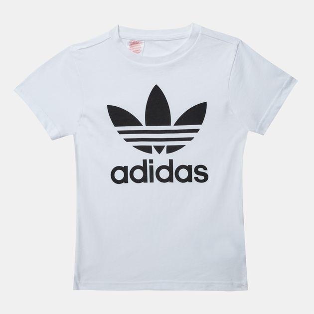 645b90059 adidas Originals Kids' Trefoil T-Shirt | T-Shirts | Tops | Clothing ...