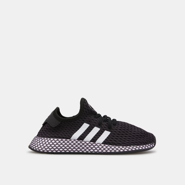 huge selection of 1f5c1 1e071 adidas Originals Kids' Deerupt Runner Shoe (Younger Kids)