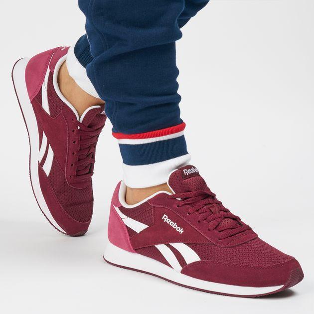 4330b0878b9 Shop Red Reebok Royal Classic Jogger 2 Shoe