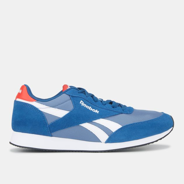 deedc2ca6783a Shop Blue Reebok Royal Classic Jogger 2 Shoe