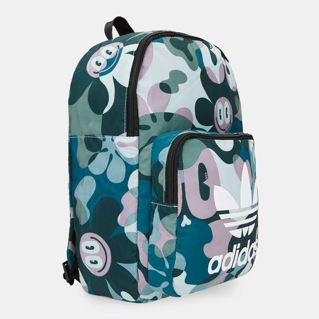 Adidas Originals x Hattie Stewart classic backpack trefoil bag womens mens NEW