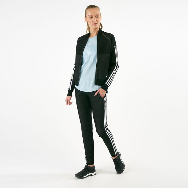 e8031e76 adidas Women's ID Knit Track Jacket | Track Jackets | Jackets ...