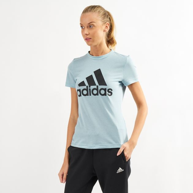 12014b7335e9 adidas Womens Must Have Badge of Sport T-Shirt   T-Shirts   Tops ...