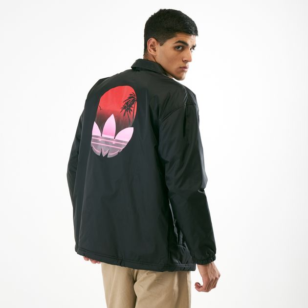 adidas Originals Men's Tropical Coach Jacket