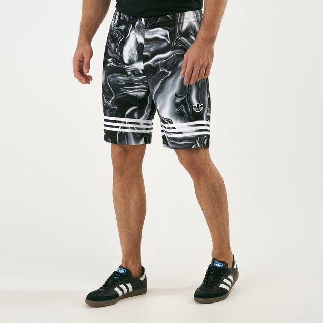 800baa5b5c21d adidas Originals Men's Melted Marble Shorts | Shorts | Clothing ...