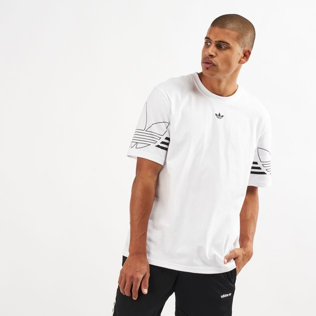 753c66ee adidas Originals Men's Outline Trefoil T-Shirt | T-Shirts | Tops ...