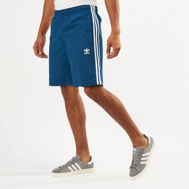 adidas Originals Men's 3 Stripes Swim Shorts