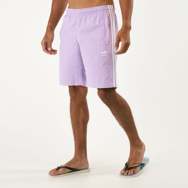 a93dccfbc0 adidas Originals Men's 3-Stripes Swim Shorts   Swimming Shorts ...