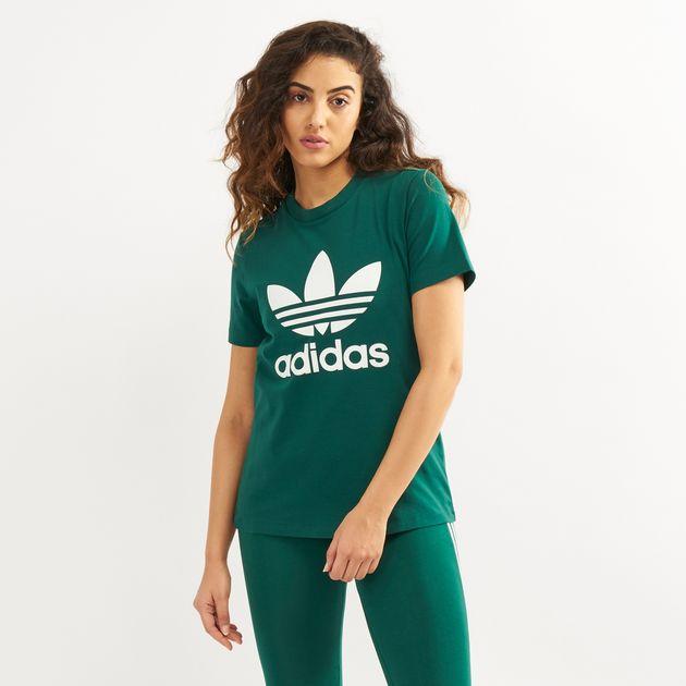 1841ddee978 Adidas Originals WoMen's Trefoil T-Shirt | T-Shirts | Tops ...
