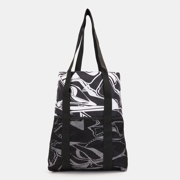 9f264ec13d9 ... adidas Graphics ID Shopper Training Bag - Black, 1268509 new style  64cd8 a26e7 ...
