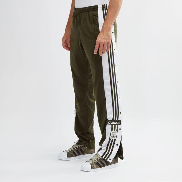 buy popular 4ce5f 442a1 Green adidas Originals adibreak Track Pants | Track Pants ...