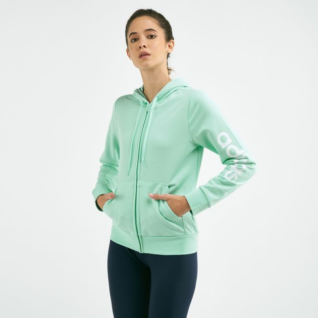 996ac1a242 adidas Women's Essentials Linear Hoodie