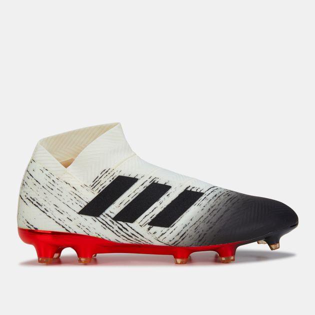 7c8f0179f حذاء نميزيز 18+ لملاعب العشب الطبيعي (تشكيلة إنيشياتور) من اديداس للرجال,  1448386