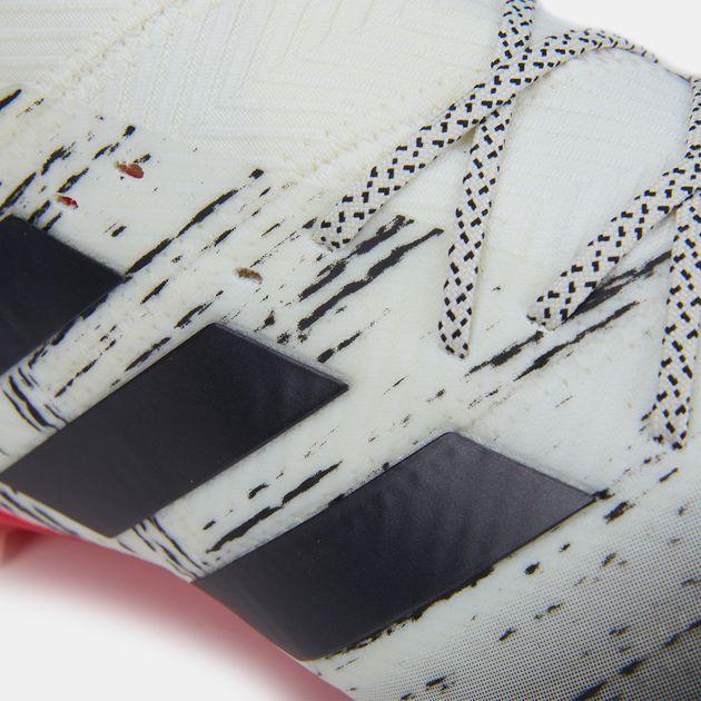 a62cc8bb4 حذاء كرة القدم نميزيز 18.1 لملاعب العشب الطبيعي (تشكيلة إنيشياتور) من اديداس  للرجال,