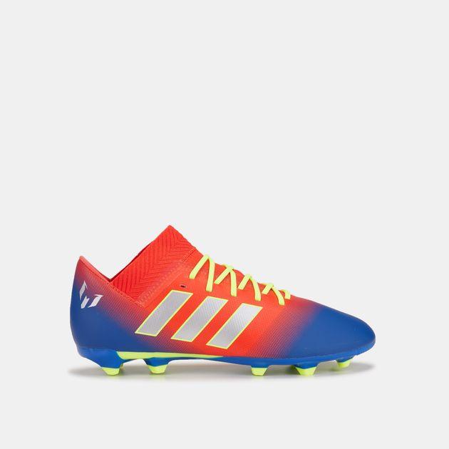 881aa0c78 adidas Kids' Initiator Pack Nemeziz Messi 18.3 Firm Ground Football Shoe,  1458792