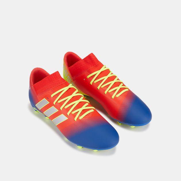 79e9ed58f adidas Kids' Initiator Pack Nemeziz Messi 18.3 Firm Ground Football Shoe,  1458793