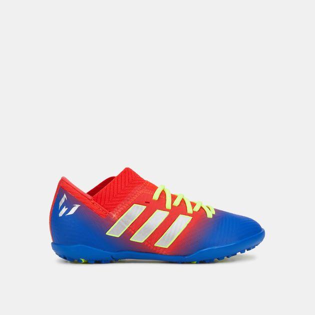 حذاء كرة القدم نميزيز تانجو 18 3 لملاعب العشب الصناعي من اديداس