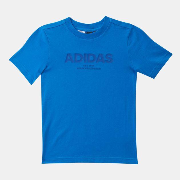adidas Kids' All Caps T-Shirt