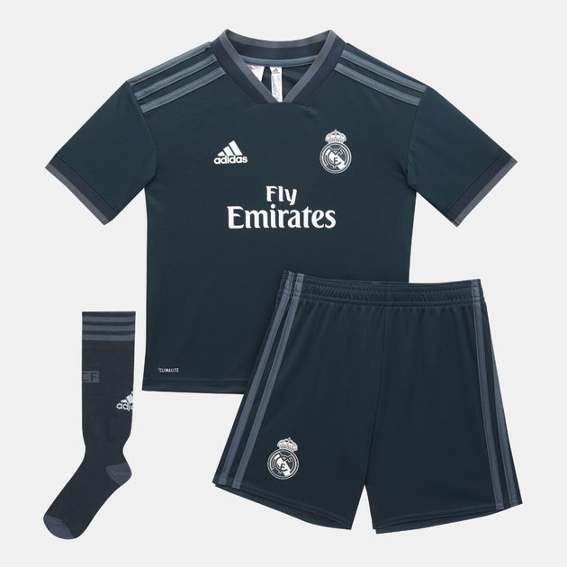 on sale 035c4 4ff1a adidas Kids' Real Madrid Away Min Kit (Younger Kids ...