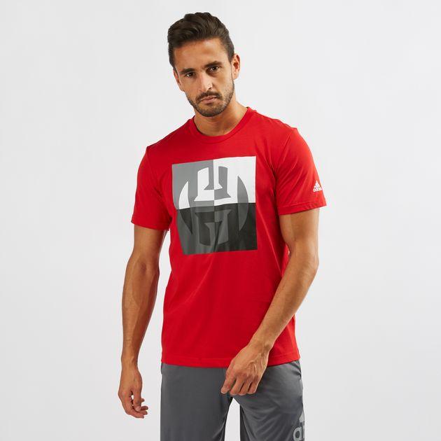 best service bf462 516c5 adidas Harden Big Logo T-Shirt   T-Shirts   Tops   Clothing ...