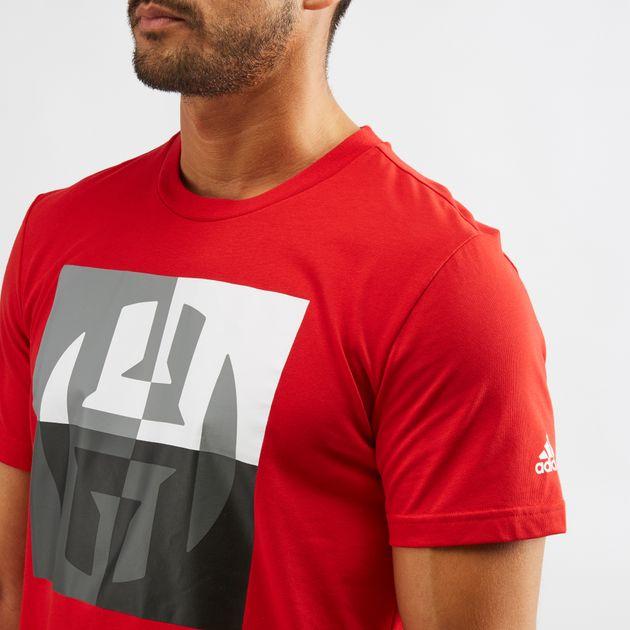 best service 1b02e d9243 adidas Harden Big Logo T-Shirt | T-Shirts | Tops | Clothing ...