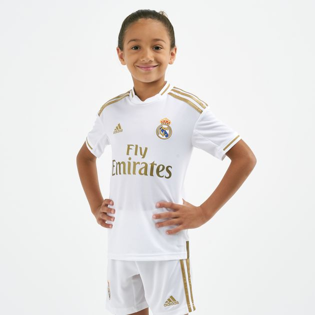 adidas Kids' Real Madrid Home Jersey