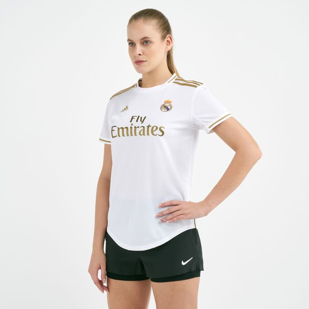 size 40 c03a9 c9f1b adidas Women's Real Madrid Home Jersey - 2019/20