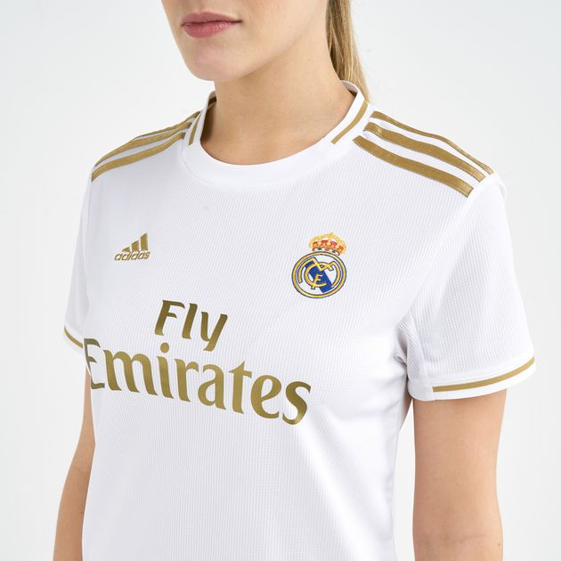 size 40 f4d23 6a764 adidas Women's Real Madrid Home Jersey - 2019/20
