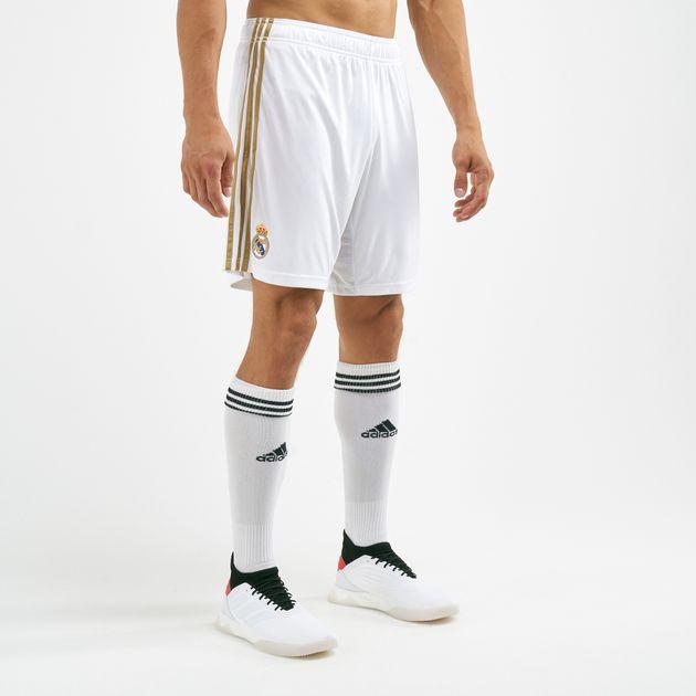 a86ae8eef adidas Men's Real Madrid Home Shorts | Football Kits | Clothing ...