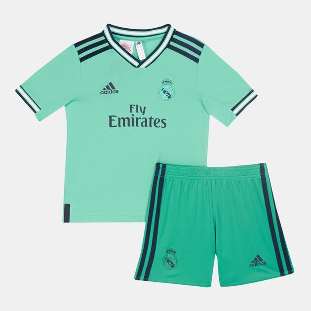 quality design 5c68f dce04 adidas Kids' Real Madrid Third Mini Kit -2019/20 (Younger Kids)