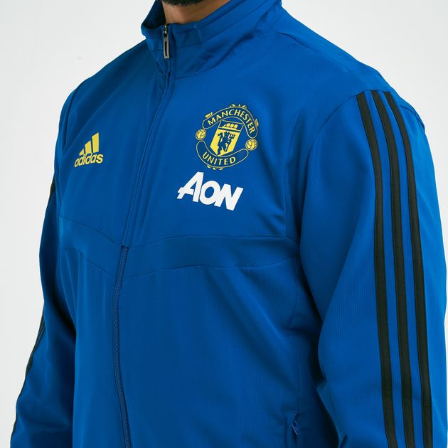 adidas Men's Manchester United FC Football Presentation Jacket