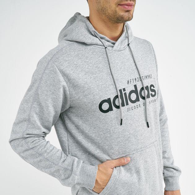 Shop Black adidas Brilliant Basics Logo Hoodie for Women