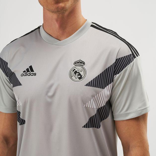 8d5f9ca3e adidas Real Madrid Home Pre-Match Football Jersey