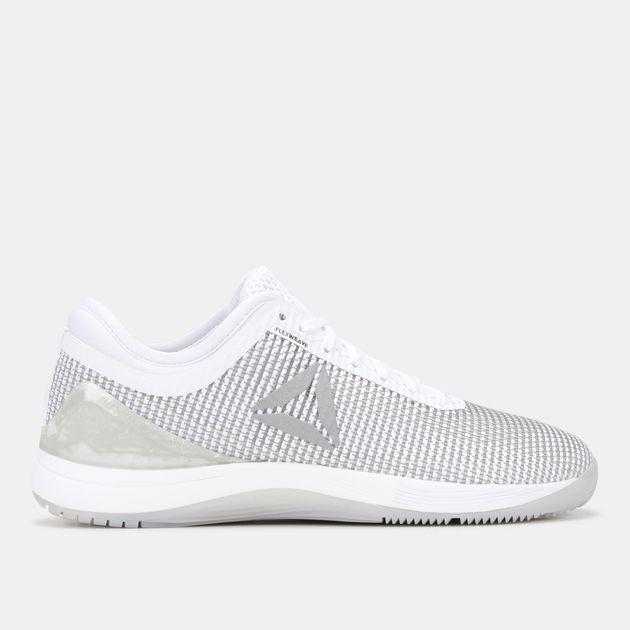 b6de25ff9136 Shop White Reebok Crossfit Nano 8 Flexweave Shoe