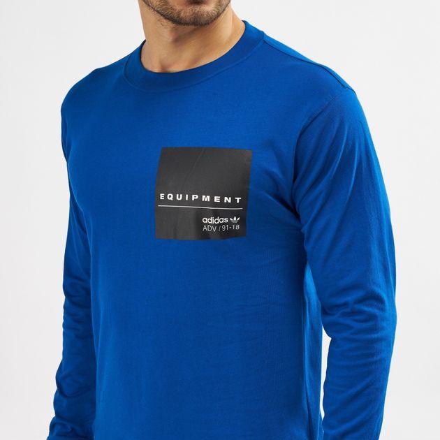 adidas Originals EQT Graphic Long Sleeve T Shirt | T Shirts